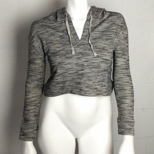 Saturday Sunday Anthropologie Cropped Hoodie